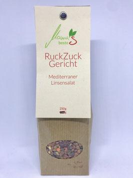 Mediterraner Linsensalat - Mischung für ein Ruck-Zuck-Gericht