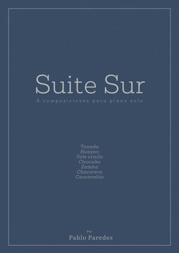 "One title from ""Suite Sur"" Score & Mp3    Send me a mail. I send you the score and audio"