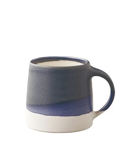 Tasse café tricolore Bleu 320ml - Kinto