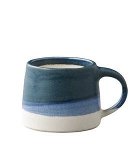 Tasse café tricolore Bleu 110ml - Kinto