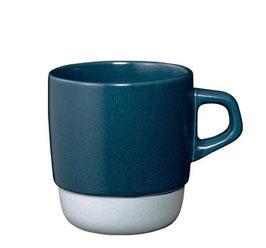 Tasse café 320ml empilable Bleu  SCS - Kinto