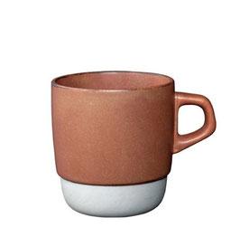Tasse café 320ml empilable Orange  SCS - Kinto