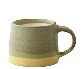 Tasse café tricolore Vert 110ml - Kinto