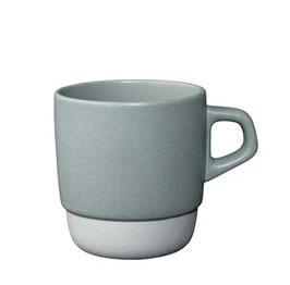 Tasse café 320ml empilable Gris  SCS - Kinto