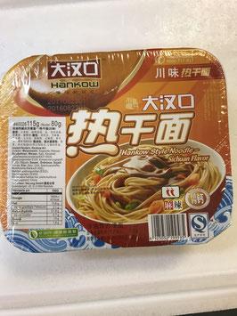 Hankow style noodle Sichuan flavour 115g
