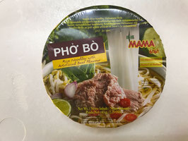 MAMA Pho Bo Beef Flavour Rice Noodles 65g