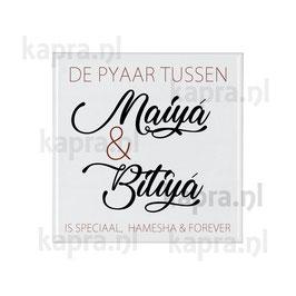 Tegel Maiya en Betwa (Moeder en Dochter) 15x15 cm
