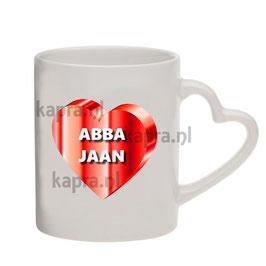 Abba Jaan Hartjes OOR mok