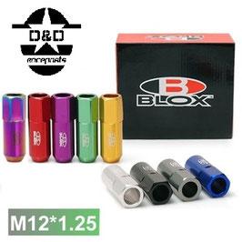 Blox Forged 7075 Aluminum Lug Nuts M12x1.25 Länge: 60mm
