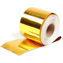 Hitzeschutzband Gold für Hitzeabschirmung