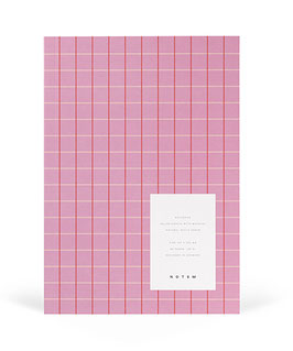 VITA Notebook, Rose Grid