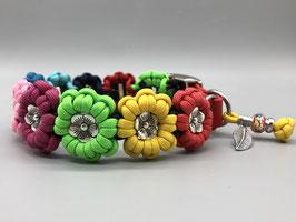 "Halsband Paracord ""Flower"""