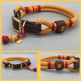 Halsband Tau mit Biothane-Adapter *SALE*
