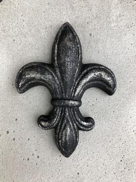 Kleine französische Lilie -schwarz-