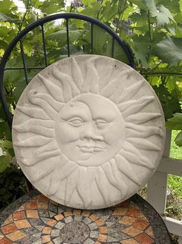 Trittplatte Sonne & Mond