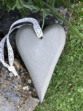 Herz in Holzoptik