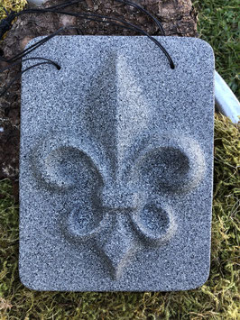 Französische Lilie -Granit-Effekt-