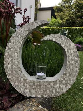 Große Spirale -champagnerfarben-