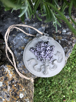 Lavendel-Bild zum Hängen -mauve-