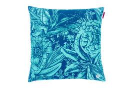 FLOWER BOUQUET TURQUOISE OVERSIZE 60 cm x 60 cm