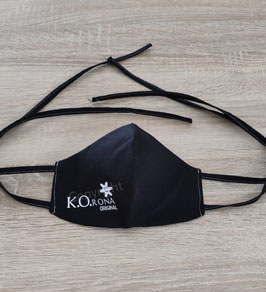 Mund Nasen Abdeckung Spuckstopper mit K.O.RONA Original Aufdruck