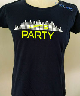 Damen T-Shirt Let's Party Equalizer