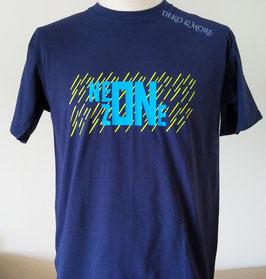 Männer T-Shirt NEON ZONE Auffallender Neon Druck
