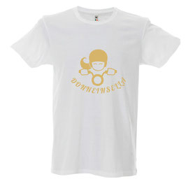 T-shirt  GOLD BIANCA DONNEINSELLA