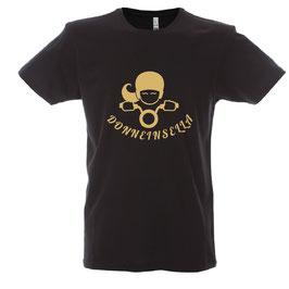 T-shirt  GOLD NERA DONNEINSELLA