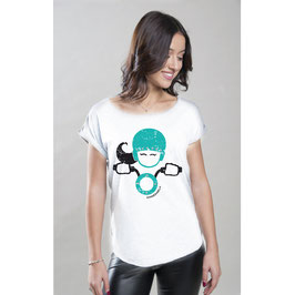 T-SHIRT LADY ROCK BIANCA DONNEINSELLA