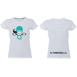 T-shirt Glitter  MALDIVE Bianca Donneinsella