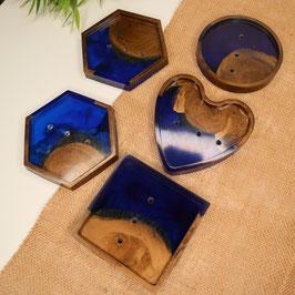 Seifenschalen blau 2
