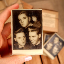 Elvis-Seife in der Schachtel