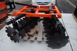 Disc Harrows - Tube Frame