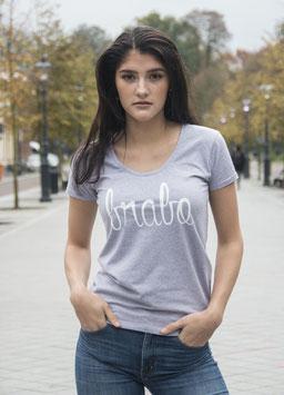 Brabo shirt grijs met witte letters
