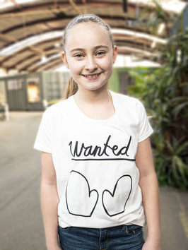 WANTED - Eus shirt voor meisjes