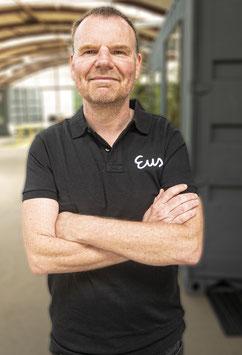 EUS Polo Shirt - ZWART