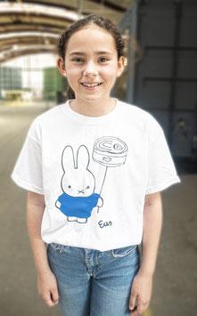 TONIJNTJE - Eus shirt voor meisjes