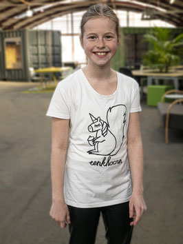 EENKHOORN - Eus shirt voor meisjes