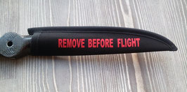 "Popsaver MÜLLER PROP mit REMOVE BEFORE FLIGHT ""rot"""