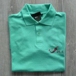 Polo-HEMD mit DLA Logo