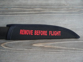 Popsaver MEJZLIK - REMOVE BEFORE FLIGHT in ROT