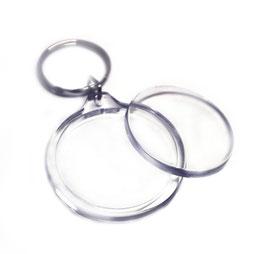 Kreis Schlüsselanhänger personalisiert mit eigenem Foto
