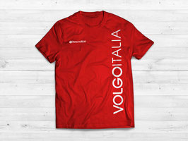 T-shirt ROSSA VOLGO ITALIA - mod.SIMPLE