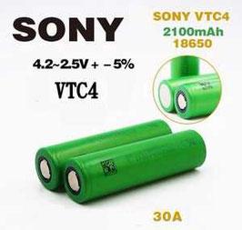 Sony - US18650 VTC4 2100mAh Li-Mn 30A (Pulse-60A) IMR
