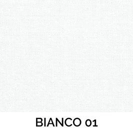 IMPERO MOLLA SENZA PASSAMANERIA TESSUTO BIANCO 01