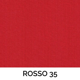 IMPERO MOLLA SENZA PASSAMANERIA TESSUTO ROSSO 35