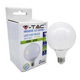 Lampada Globo Led 10 Watt 810 Lumen A+