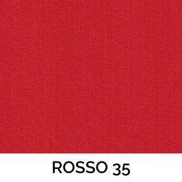 CONO PVC SENZA PASSAMANERIA COTONE ROSSO 35