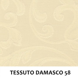 IMPERO MOLLA SENZA PASSAMANERIA TESSUTO DAMASCO 58